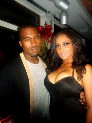 kanye west girlfriend