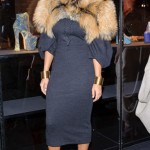 Amber Rose Styling On Them Hoes In Her Fur Jacket