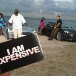 """Rick Ross, Drake & Chrisette Michelle On The Set Of """"Aston Martin Music"""" [With Pictures]"""