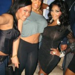 Lil Kim Partying With Juelz Santana & Kimbella [With Pictures]
