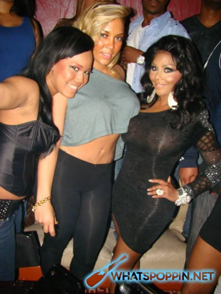 4064cd1c Over the weekend, Lil Kim was spotted at Club Perfections in Queens, New  York celebrating Kimbella's birthday. Lil B, Lloyd Banks and Kimbella's  boyfriend ...