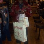 Spotted: Don Bleek Doing Some Last Minute Holiday Shopping At True Religion & Neiman Marcus
