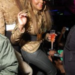 Spotted: Lil Kim Popping Bottles In VIP [With Pics & Video]