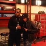 Dope Pics: Lloyd Banks & Cory Gunz On The Set Of Funk Flex Full Throttle on MTV2