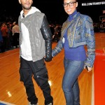 Alicia Keys, Swizz Beatz, Kanye West, Magic Johnson & More Spotted Courtside At The Knicks Game