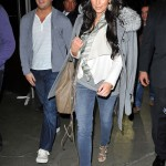 Kim Kardashian Styling On Them Hoes In A Pair Of $1,295 Christian Louboutin