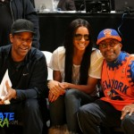 Spotted: Ciara, Denzel Washington & Spike Lee Courtside At The Lakers Vs Knicks Games