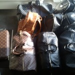 Styling: Rick Ross Showing $10,000 Worth Of Louis Vuitton, Gucci & MCM Luggage