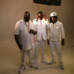 """Exclusive Pictures From The Set Of Rick Ross """"Pandemonium"""" Video Shoot With Wale & Meek Millz"""