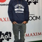 Dope Pic Of The Day: Chris Brown Spotted At The Maxim Superbowl Party In Dallas