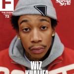 Wiz Khalifa Covers Fader Magazine