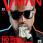 Kanye West Covers VMan Magazine's Spring 2011 Issue
