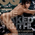 Naomi Campbell Gets Naked On The Cover Of British GQ