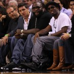 Spotted: Rick Ross And Diddy Courtside At The Miami Game