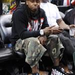 Lil Wayne, Birdman, Mack Maine & DJ Khaled Spotted Courtside At The Heat Vs. Knicks Game