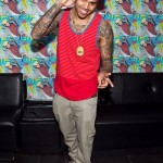 Chris Brown Styling On Them Lames At F.A.M.E. Album Listening Session In D.C.