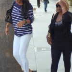 Is She Wify? Diddy's Girl Cassie & His Mother Spotted Shopping In Beverly Hills