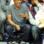 Jay-Z Styling On Them Lames In $925 Maison Martin Margiela Bovine Leather Chain Lace-Up Sneakers