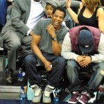 Spotted: Jay-Z Laughing Coutside At The Nets Game