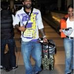 Spotted: Jim Jones & Lady H At JFK Airport In NYC
