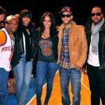 Celebs Courtside: La La, Kelly, Swizz, Spike Lee, Whoopi Goldberg, Vanessa Williams & Floyd Mayweather Sitting Courtside At The Knicks Game