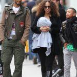 Picture Me Dope: Swizz Beatz, Alicia Keys & Kids Walking Around In NYC