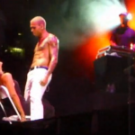 Chris Brown Gives A Female Fan A Lap Dance & Kiss At Springfest Concert [With Video]
