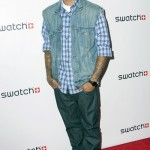 Four Pictures Of Chris Brown Wearing Christian Louboutin Sneakers