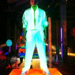 Chris Brown Styling On Them Lames In Adidas Track Suit & Sneakers