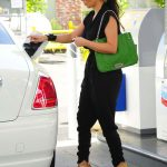 Kim Kardashian Styling On Them Hoes In A Pair Of $1,190 Gucci Sandals