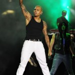 Chris Brown Styling On Them Lames In A Pair Of $1,195 Christian Louboutin Sneakers