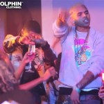 Chris Brown Styling On Them Lames In Pink Dolphin Clothing
