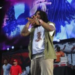 Waka Flocka Styling On Them Lames In A $178 Marc By Marc Jacob Hoodie & A $460 Louis Vuitton Belt