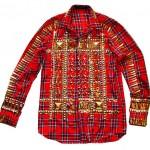 Fall/Winter 2011 Fashion: Riccardo Tisci For Givenchy | Stud Tartan Shirt