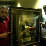 """DJ Khaled Recieves Gold Plaque: """"I'm On One"""" Reached Over 500,000 Digital Download [WITH PICTURES & VIDEO]"""