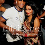 Partying In Atlanta: Floyd Mayweather And Lil Kim Spotted All-Hugged-Up At Compound Nightclub