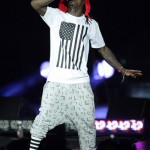 """Performing In Dirty Jerz: Lil' Wayne, Rick Ross, Keri Hilson & Lloyd Rock Out On """"I Am Music 2"""" Tour  [PICTORIAL]"""