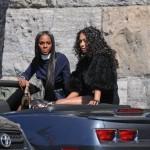 Sneak Peek: La La Vazquez-Anthony & Tiki Sumpter Fashion Shoot With Vibe Magazine