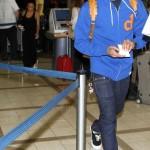 Spotted: Chris Brown & His Girlfriend Karrueche Tran Leaving L.A.X., Plus He Announces Tour Dates