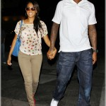 Dining In Beverly Hills: Carmelo & La La Vazquez-Anthony Spotted Leaving Matsuhisa