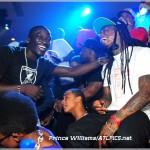 Partying In Atlanta: Lil Wayne, Birdman, Tyga & Akon At Compound Nightclub