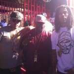 """Picture Me Dope: French Montana, Waka Flocka & Trae Tha Truth On The Set Of """"Shot Caller"""""""