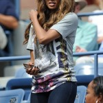 Celebs On The Scene: Ciara, Star Jones, Spike Lee & His Son At Serena Williams' US Open