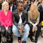 Styling On Them Lames: Kanye West In Balmain Biker Jacket, Alexander Wang Tee &  Air Jordan 1 Sneakers