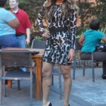 Girl You Be Killin Em: Ciara Spotted In Atlanta In A Pair Of Christian Louboutin Shoes & A Leopard Dress