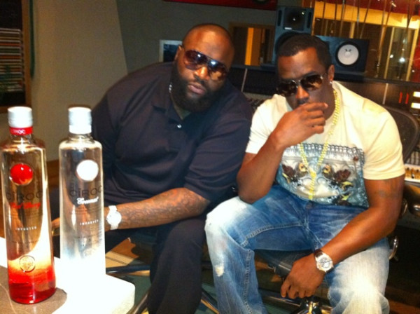 studio me dope: rick ross & diddy in the lab – dmfashionbook