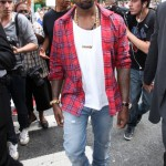 Styling On Them Lames: Kanye West In $545 Balenciaga Sneakers & Givenchy Shirt