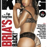 She Gotta A Fat Butt & I Love It Like That: Bria Myles Covers KING Winter 2011 Issue