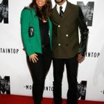 "Love Affair: Swizz Beatz & Alicia Keys Attends ""The Mountaintop"" Opening Night"