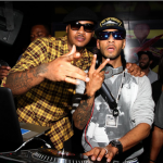 Partying In NYC: Swizz Beatz & Carmelo Anthony At Tenjune Turning 5